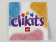 Part No: Clikits300pb01  Name: Clikits Paper Thin, Insert 4 x 4 for Frame clikits011, 'Clikits' Logo