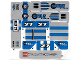Part No: McDR1stk01  Name: Sticker Sheet for Gear McDR1
