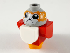 Part No: Porg04  Name: Porg, Star Wars with Red Wings and Tail