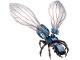 Part No: ant01  Name: Ant, Ant-Man, Original Version (Anthony) - Brick Built
