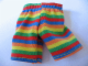 Part No: bb0246pb02  Name: Duplo Doll Cloth Pants with Rainbow Stripes Pattern