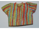Part No: bb0250pb05  Name: Duplo Doll Cloth T-Shirt with Vertical Stripes Pattern