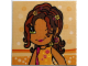 Part No: clikits076pb16  Name: Clikits Paper, Insert 4 x 4 for Frame clikits011, 'Daisy' Winking Image