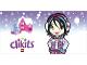 Part No: clikits117pb06  Name: Clikits Paper, Gift Tag 5 (2004 Advent Calendar, Day 21)