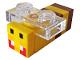 Part No: minebee01  Name: Minecraft Bee, Angry - Brick Built