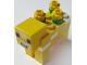 Part No: minecow05  Name: Animal, Land Minecraft Cow, Moobloom - Brick Built