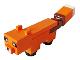 Part No: minefox01  Name: Minecraft Fox - Brick Built