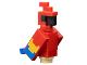 Part No: mineparrot01  Name: Minecraft Parrot - Brick Built