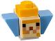 Part No: minepufffish01  Name: Minecraft Pufferfish Fry - Brick Built
