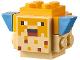 Part No: minepufffish02  Name: Minecraft Pufferfish Adult - Brick Built
