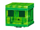 Part No: mineslime01  Name: Animal, Land Minecraft Slime - Brick Built