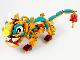 Part No: nian01  Name: Lion, Ceremonial (Nian) - Brick Built