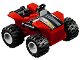 Part No: spa0004  Name: All-Terrain Vehicle (ATV) - Set 10751