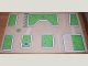 Part No: tplan02  Name: Town Plan Board, Masonite (53 1/2cm x 80cm) - Sets 200A / 1200A / 200M