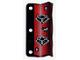 Part No: x65  Name: Plastic Flag 3 x 6 Ninja Pattern Red