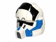 Part No: 11331pb01  Name: Minifigure, Headgear Helmet SW Clone Pilot with Elongated Breathing Mask and 501st Pattern