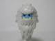 Part No: 13809pb01  Name: Minifigure, Head Modified Yeti with Shaggy Hair and Bright Light Blue Face Pattern