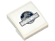 Part No: 15068pb039  Name: Slope, Curved 2 x 2 with Jurassic World Logo Pattern (Sticker) - Set 75917
