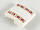 Part No: 15068pb214  Name: Slope, Curved 2 x 2 with Ornate Magenta and Gold Stripes Pattern (Sticker) - Set 41164
