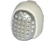 Part No: 18830pb01  Name: Minifigure, Headgear Fencing Mask with Silver Mesh Pattern