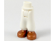 Part No: 19190c00pb03  Name: Mini Doll Friends Hips and Baggy Trousers with Copper Shoes Pattern