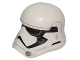 Part No: 20904pb05  Name: Minifigure, Headgear Helmet SW Stormtrooper Ep. 8 Pointed Mouth Pattern