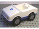 Part No: 2235pb02  Name: Duplo Car with 1 x 2 Studs with Blue Base and EMT Star of Life Pattern
