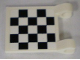 Part No: 2335pb065  Name: Flag 2 x 2 Square with Checkered Pattern on Both Sides, White Corners (Stickers) - Sets 8864 / 8897 / 8898 / 8899