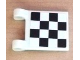 Part No: 2335pb079  Name: Flag 2 x 2 Square with Checkered Pattern on Both Sides, 2 Black Diagonal Corners (Stickers) - Set 8486