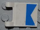 Part No: 2335pb080  Name: Flag 2 x 2 Square with Diver Blue Pattern on Both Sides (Stickers) - Set 4644