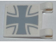 Part No: 2335pb092  Name: Flag 2 x 2 Square with Iron Cross Pattern (Sticker) - Set 7198