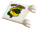 Part No: 2335pb221  Name: Flag 2 x 2 Square with 'GIFT SHOP', Lego Box and Dinosaur Pattern (Sticker) - Set 75934