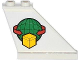 Part No: 2340pb047R  Name: Tail 4 x 1 x 3 with Box and Arrows and Globe Pattern on Right Side (Sticker) - Set 60021