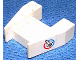 Part No: 2399pb01  Name: Wedge 3 x 4 without Stud Notches with Shuttle and Blue/Red Circle Pattern on Both Sides (Stickers) - Set 6336