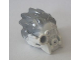 Part No: 24150pb01  Name: Bionicle Mask of Ice (Unity) with Marbled Flat Silver Pattern