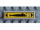 Part No: 2431pb015  Name: Tile 1 x 4 with Submarine Right Pattern (Sticker) - Set 8480