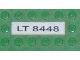 Part No: 2431pb046  Name: Tile 1 x 4 with 'LT 8448' Pattern (Sticker) - Set 8448