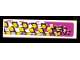 Part No: 2431pb054R  Name: Tile 1 x 4 with Racers Pattern, Model Right (Sticker) - Set 8131