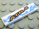 Part No: 2431pb102  Name: Tile 1 x 4 with 'ATR 4' Pattern (Sticker) - Set 8657