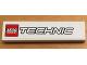 Part No: 2431pb531  Name: Tile 1 x 4 with LEGO TECHNIC Logo Pattern (Sticker) - Set 8071