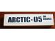 Part No: 2431pb587  Name: Tile 1 x 4 with 'ARCTIC-05 AC 60062' Pattern (Sticker) - Set 60062