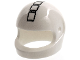 Part No: 2446pb40  Name: Minifigure, Headgear Helmet Standard with 5 Rectangles Pattern