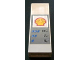 Part No: 2454pb033  Name: Brick 1 x 2 x 5 with Shell Logo and Car Wash Price Table Pattern (Sticker) - Set 1255