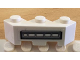 Part No: 2462pb03L  Name: Brick, Modified Facet 3 x 3 with Gray Bars Pattern Model Left Side (Sticker) - Set 5979
