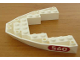 Part No: 2622pb01  Name: Boat Bow Brick 8 x 10 x 1 with '560' in Red Oval Pattern on Both Sides (Stickers) - Set 6560