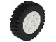 Part No: 2695c01  Name: Wheel 30mm D. x 13mm (13 x 24 Model Team), with Black Tire 13 x 24 Model Team (2695 / 2696)