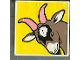Part No: 2756pb001  Name: Duplo Tile 2 x 2 x 1 with Goat Mosaic Picture 01 Pattern (Set 1078)