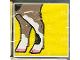 Part No: 2756pb006  Name: Duplo Tile 2 x 2 x 1 with Goat Mosaic Picture 06 Pattern (Set 1078)