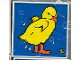 Part No: 2756pb028  Name: Duplo Tile 2 x 2 x 1 with Duck Mosaic Picture 10 Pattern (Set 1078)