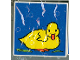 Part No: 2756pb029  Name: Duplo Tile 2 x 2 x 1 with Duck Mosaic Picture 11 Pattern (Set 1078)